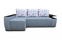 На фото Угловой диван Сидней (Блюз)