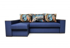 На фото Угловой диван Рио (Блюз)