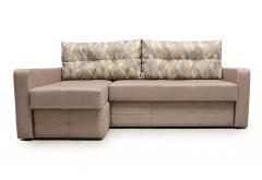 На фото Угловой диван Валенсия (Блюз)