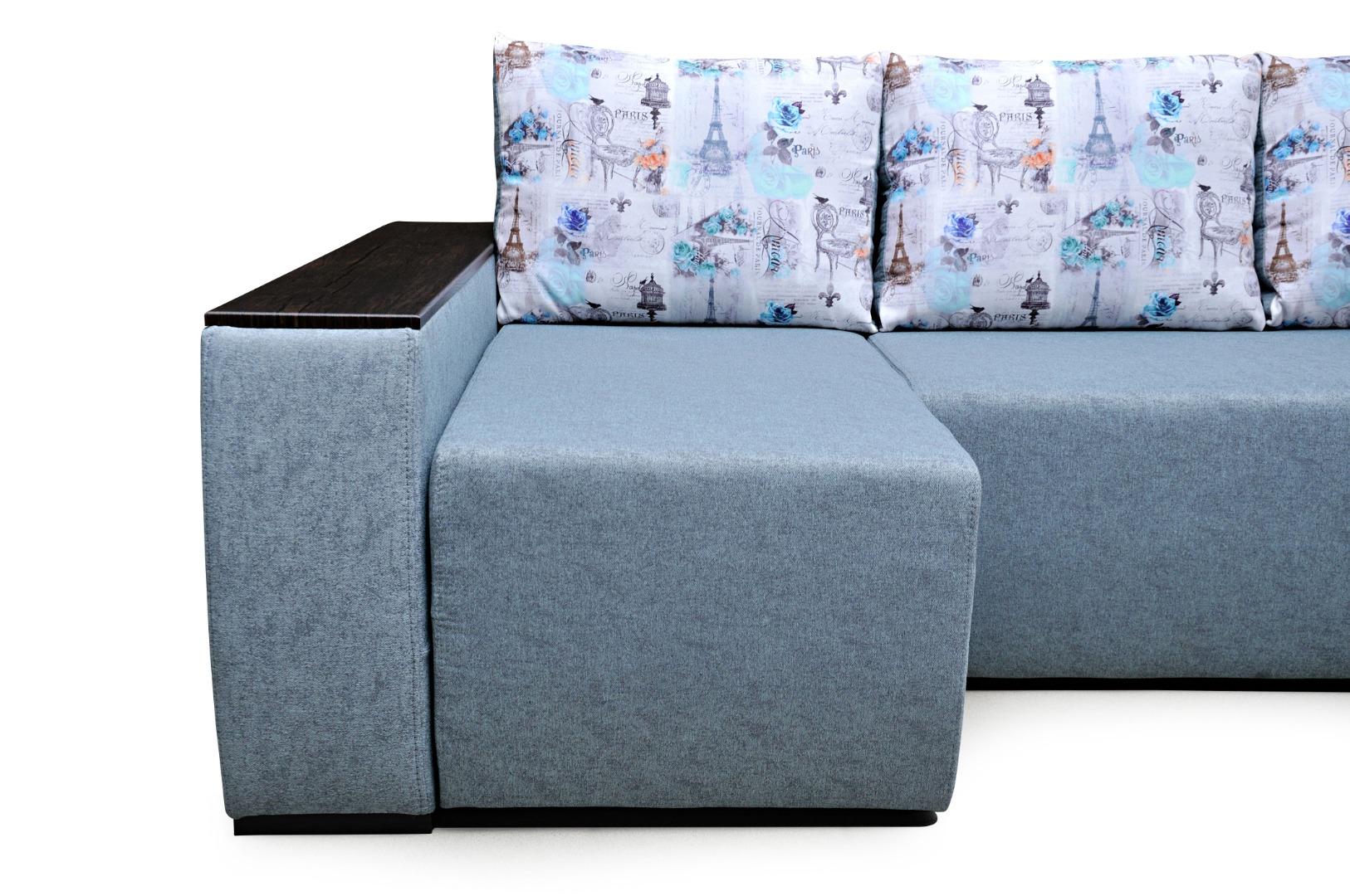 На фото № 4 Угловой диван Сидней (Блюз)