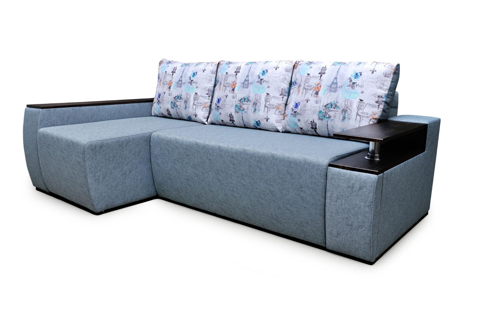 На фото № 1 Угловой диван Сидней (Блюз)