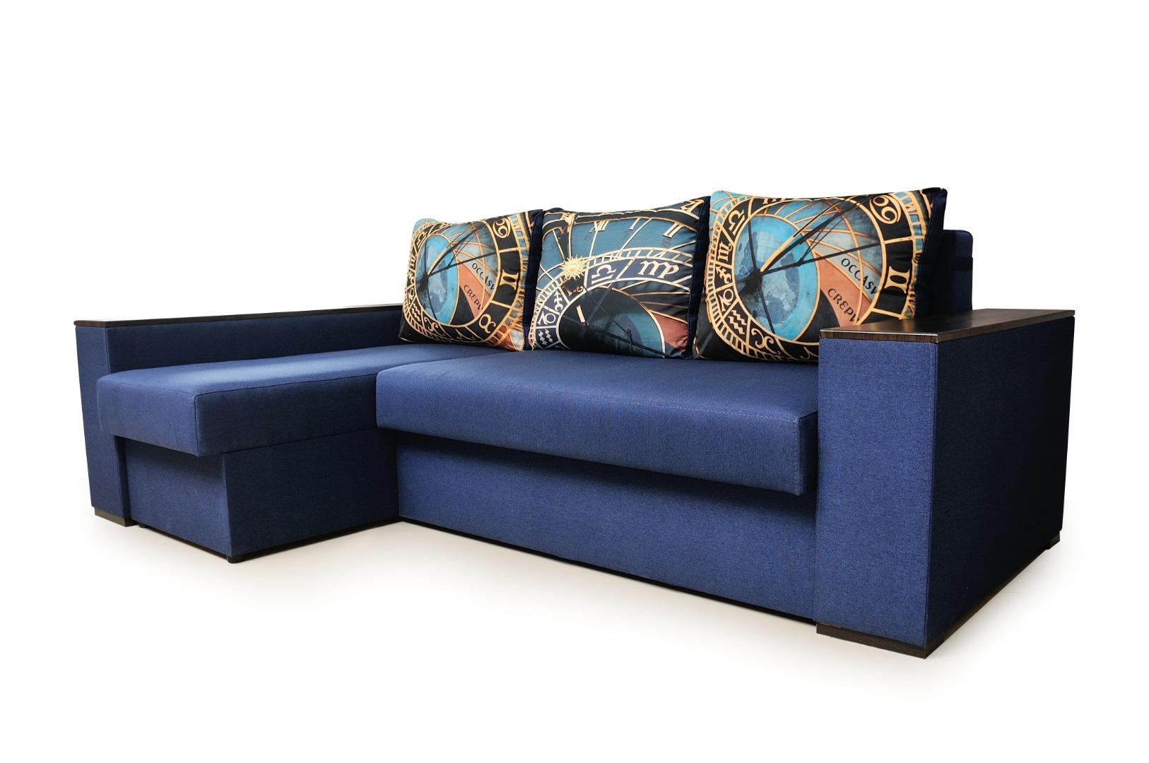На фото № 1 Угловой диван Рио (Блюз)