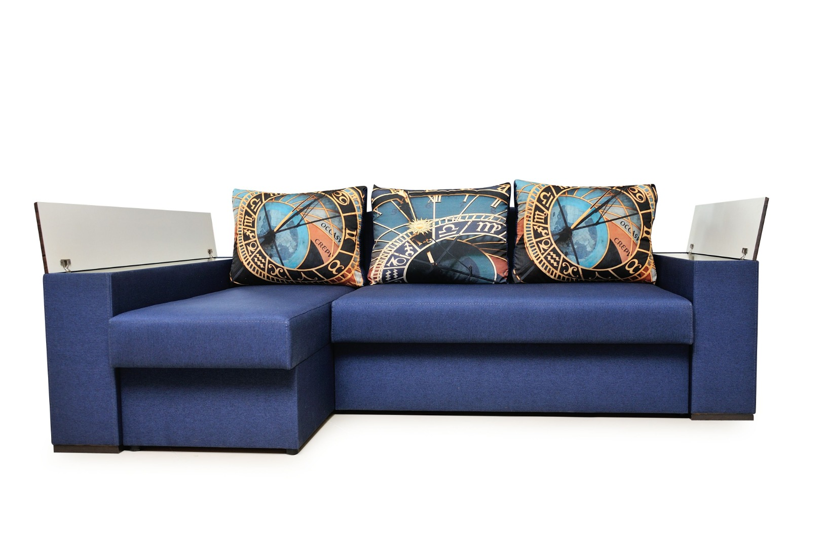На фото № 10 Угловой диван Рио (Блюз)
