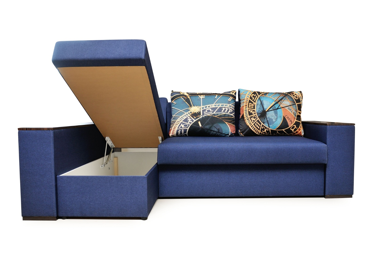 На фото № 8 Угловой диван Рио (Блюз)