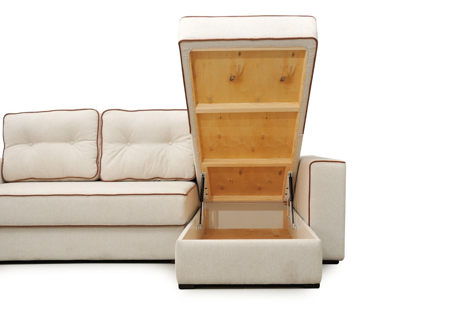 На фото № 10 Угловой диван luxe Палермо