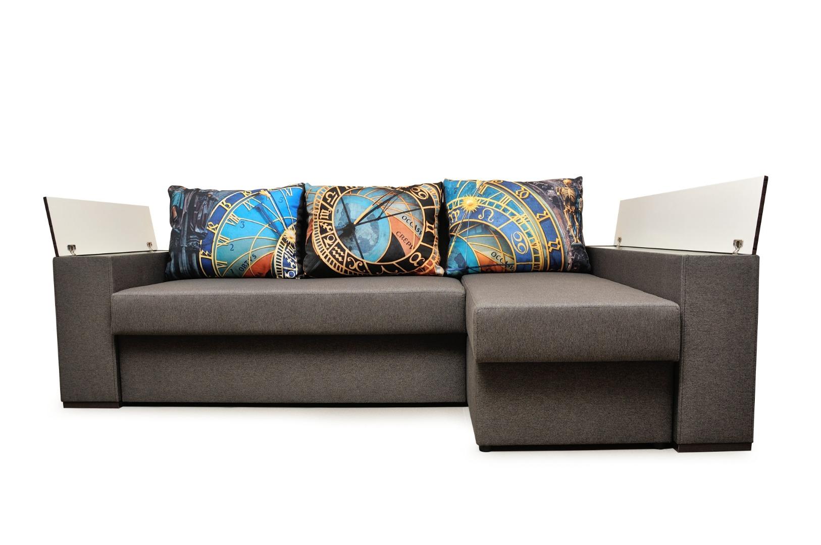 На фото № 35 Угловой диван Рио (Блюз)