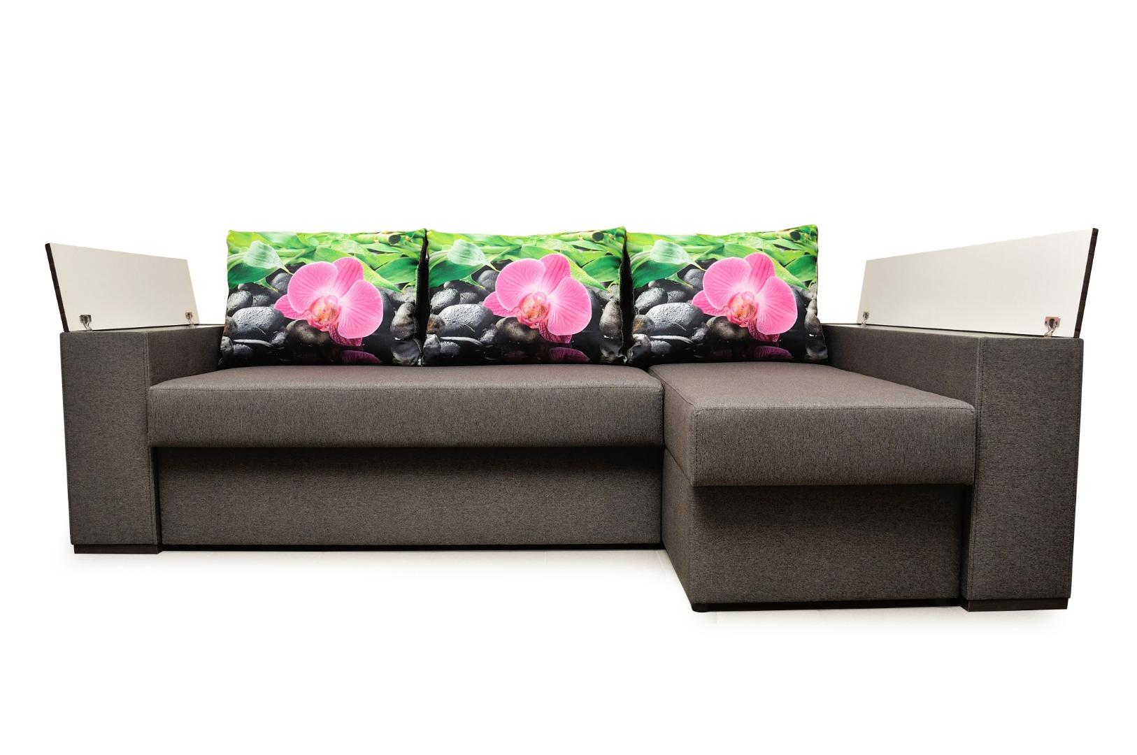 На фото № 21 Угловой диван Рио (Блюз)