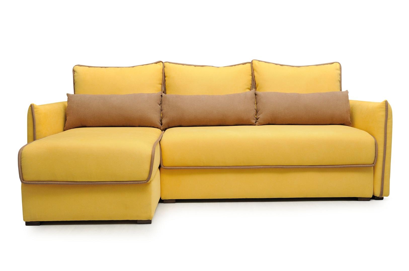На фото № 1 Угловой диван luxe Сицилия