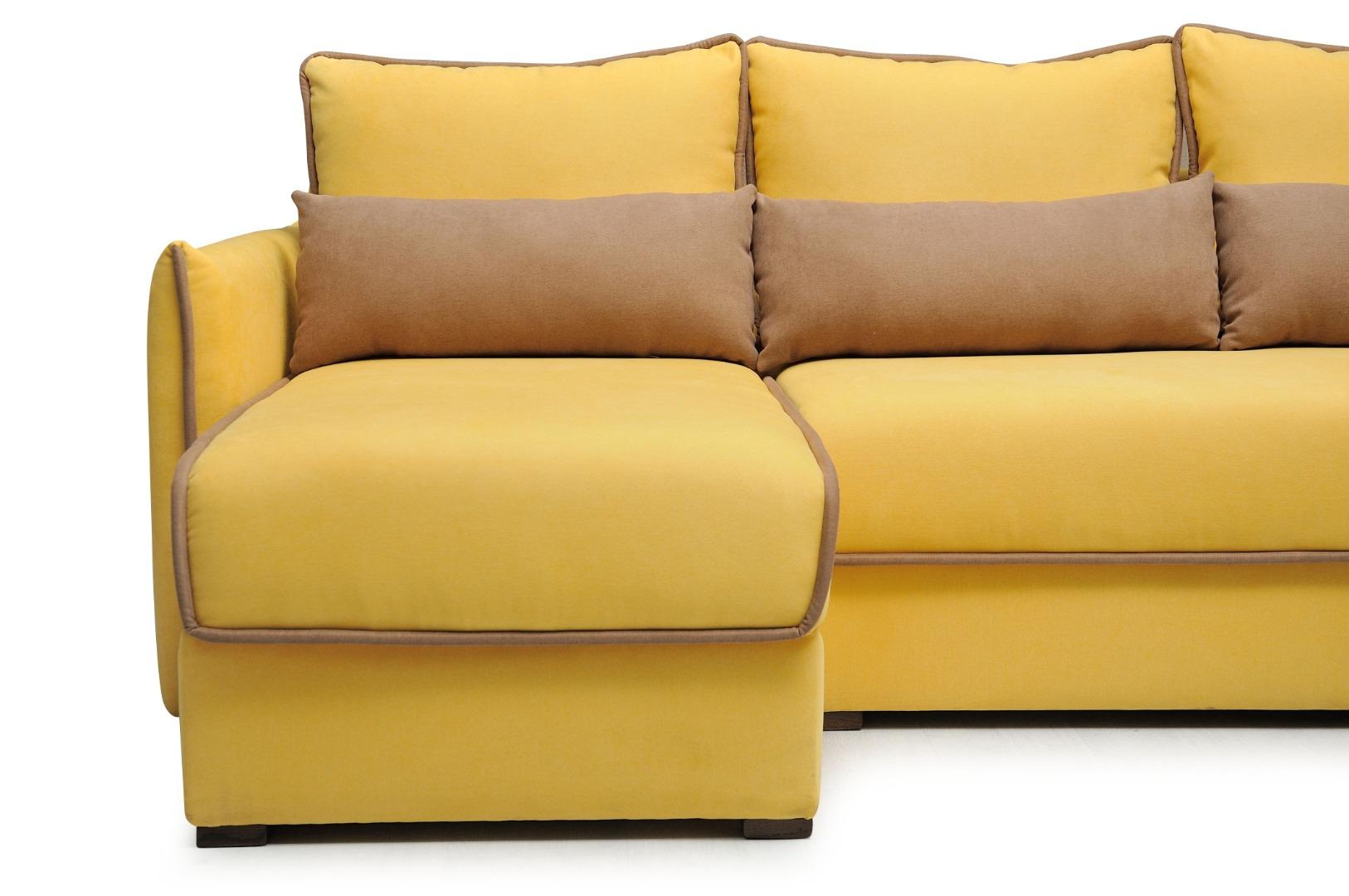 На фото № 3 Угловой диван luxe Сицилия