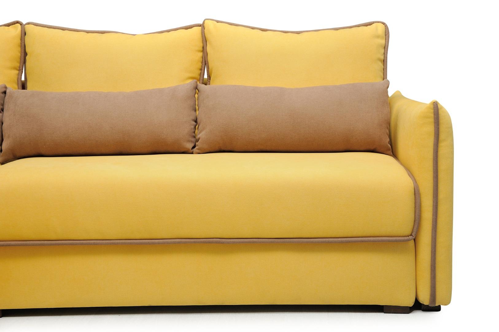 На фото № 4 Угловой диван luxe Сицилия