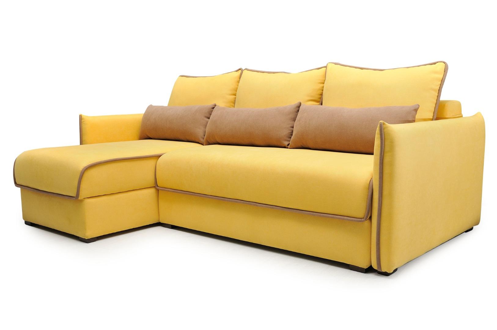На фото № 2 Угловой диван luxe Сицилия
