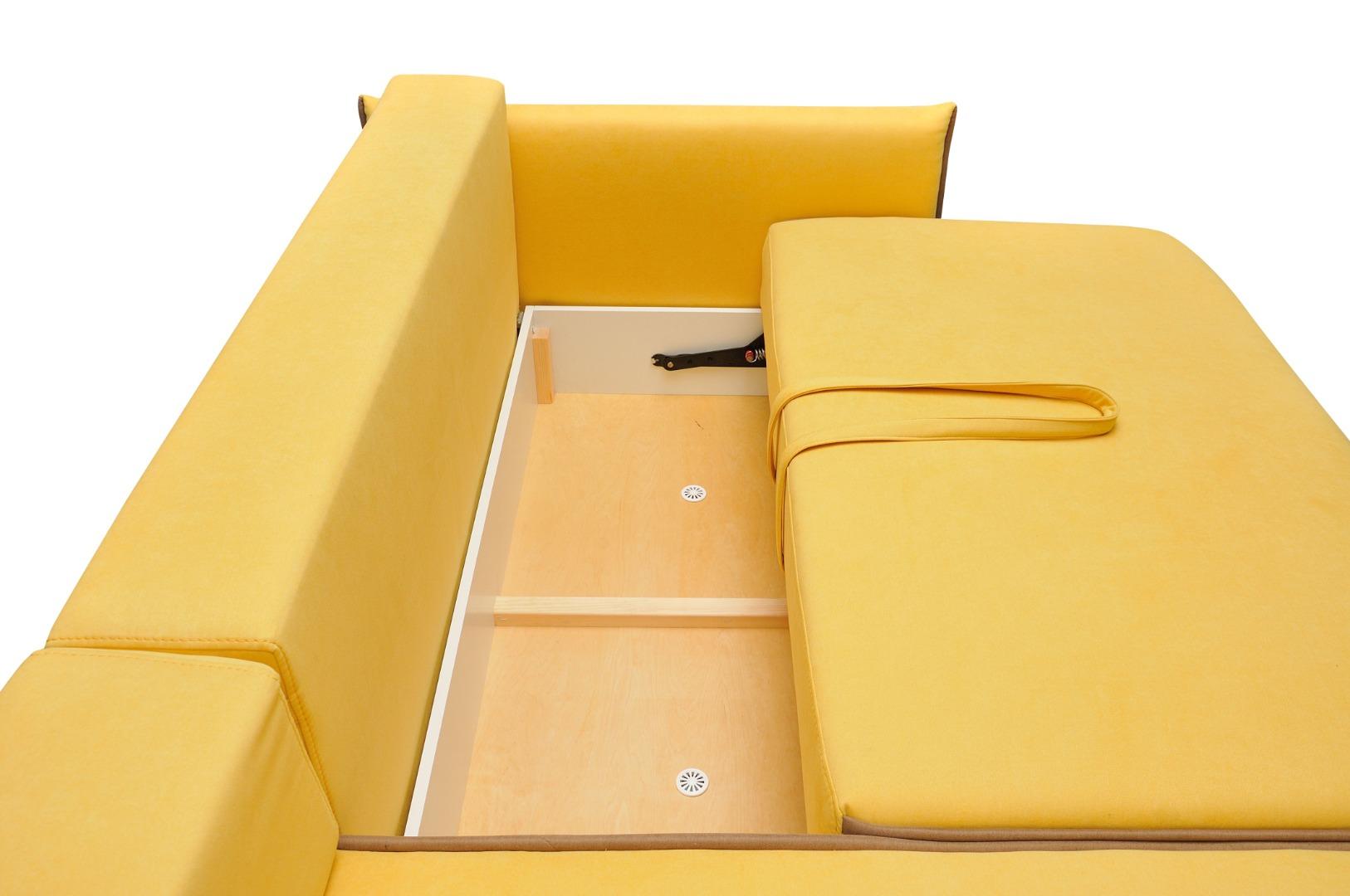 На фото № 7 Угловой диван luxe Сицилия